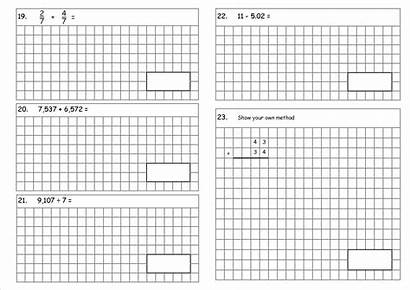Sats Arithmetic Questions Test Ks2 Comprehension Maths
