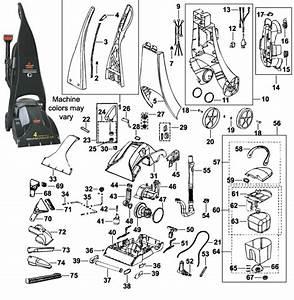 Bissell 8804 Powersteamer Deep Cleaner Parts