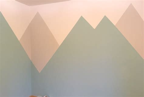 Kinderzimmer Wandgestaltung Berge by Kinderzimmer Wandgestaltung Berge