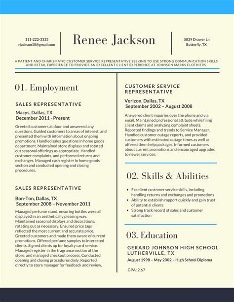Professional Resume Sles In Word Format by Resume Templates
