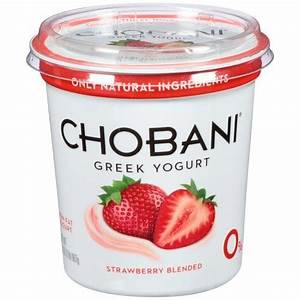 Chobani Yogurt Nutrition Facts Strawberry – Nutrition Ftempo
