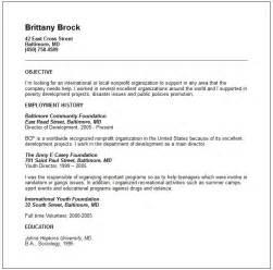 volunteer work on your resume volunteer experience resume exle resume format