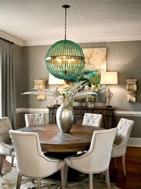magnifica decoracion de comedores  mesas redondas