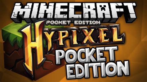 hypixel server  mcpe hypixel pe minigames