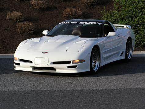 Corvette C5 Body Kit  Acp's White Wide Bodya Head