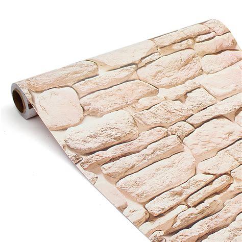Brick 3d Wallpaper Sticker by 3d Wallpaper Brick Wood Mural Waterproof Self Adhesive