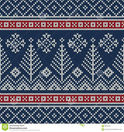 Are you searching for sweater png images or vector? Christmas Sweater Design. Seamless Knitting Pattern Stock ...