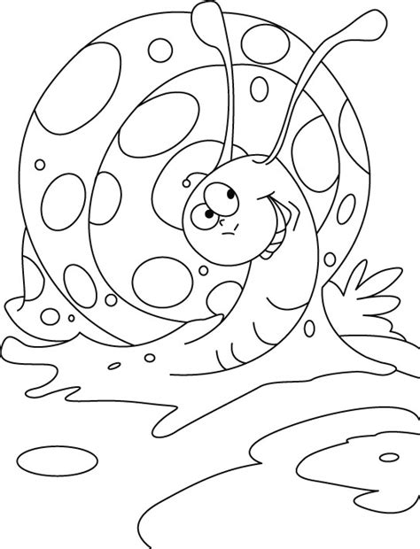 high spirited snail coloring pages   high
