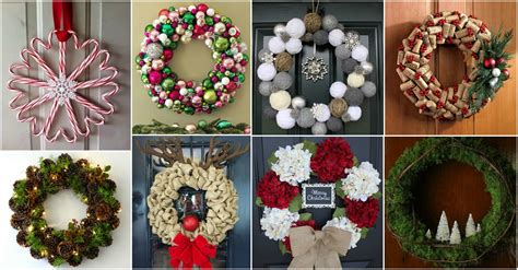 amazing diy christmas wreaths   festive mood