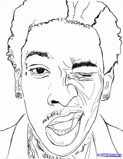 Khalifa Wiz Draw Step Drawing Cartoon Line