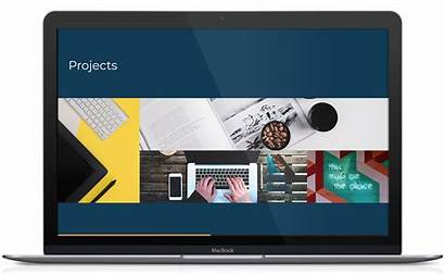 Profile Company Template Pdf Website Presentation Templates