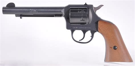 Lot Detail H And R Model 649 22 Cal Revolver With Soft Case