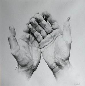 Cupped Hands Pencil Drawing | www.imgkid.com - The Image ...
