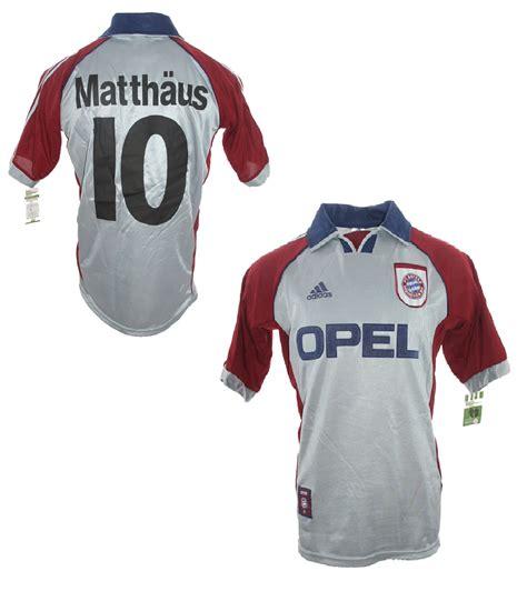 Fc bayern munich was founded by members of a munich gymnastics club (mtv 1879). Adidas FC Bayern München Trikot 10 Lothar Matthäus ...