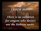 Anchor of Life : Yahweh, Yahwah, Yahawah, Yahovah, Yaheveh ...