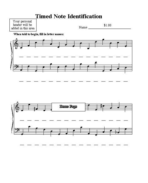 I have updated most of the quizzes below, along with the rest. Free Sheet Music Downloads - Test Materials - Music Education Worksheets