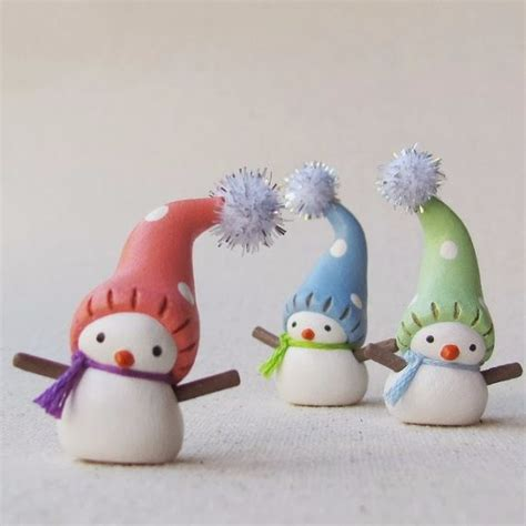 homemade polymer clay  christmas decorations family