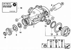 Original Parts For E90 320d M47n2 Sedan    Rear Axle