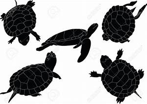 Best Turtle Silhouette #12988 - Clipartion.com