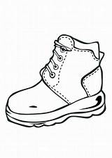 Coloring Shoe Shoes Pages Boots Drawing Printable Nike Clipart Jordan Sheets Kid 9c76 Template Boys Clipartmag Basketball Cat Dc Running sketch template