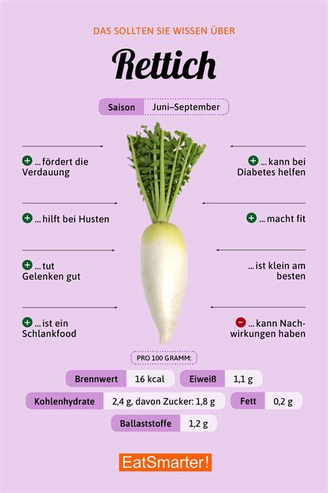 rettich infos tipps eat smarter