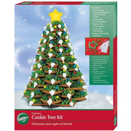 wilton cookie decorating kit christmas tree  ct