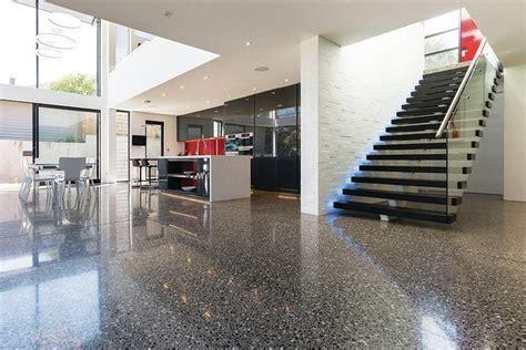 Fibers in Polished Concrete  Concrete Construction