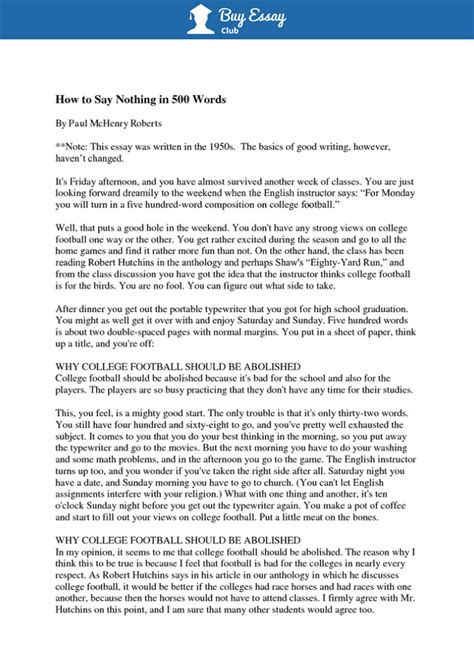 Essay Format by How To Write A 500 Word Essay Free Exles Format And