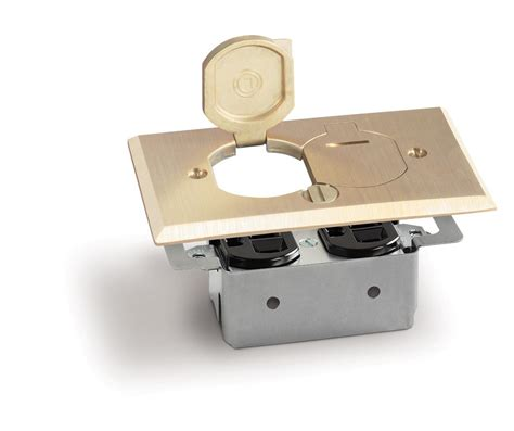lew floor box saw lew electric rrp 2 lr rectangle dual 15a outlet floor box