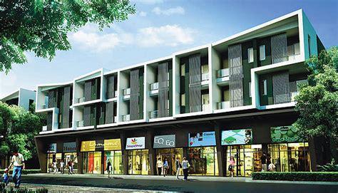 The Home Design Shop : Attract Power Of The Modern Shophouse Facade