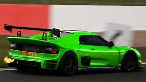 Noble M12 Gto : 650bhp noble m12 gto flames sounds and ride around silverstone hd youtube ~ Medecine-chirurgie-esthetiques.com Avis de Voitures