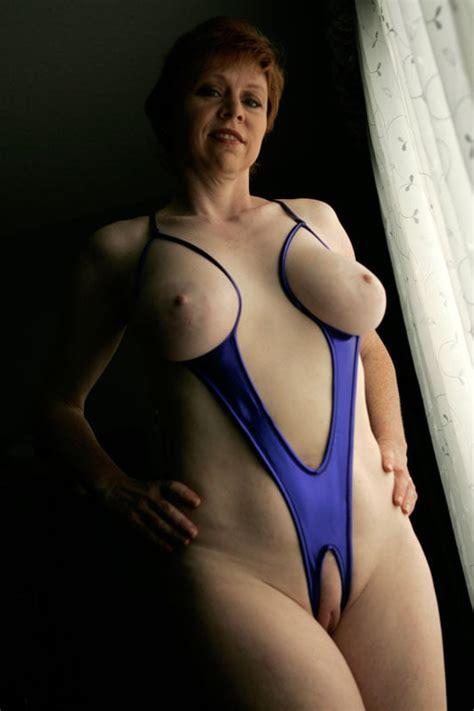 Big Tits Milf Wearing A Slingshot Bikini 25 Pics Xhamster