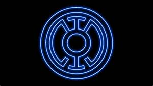 Blue Lantern Corps Neon Symbol WP by MorganRLewis on ...