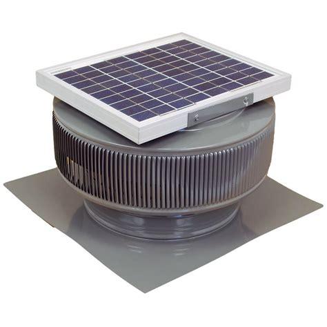 vent exhaust fan to attic active ventilation 740 cfm weatherwood powder coated 10