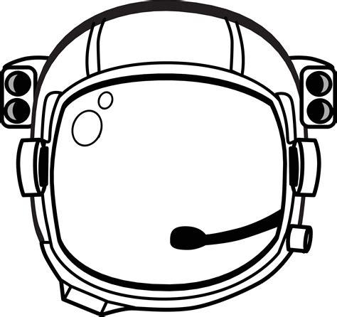 astronaut clipart black and white clipart astronaut s helmet