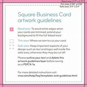 Square business cards templates moo support for Moo com business card template