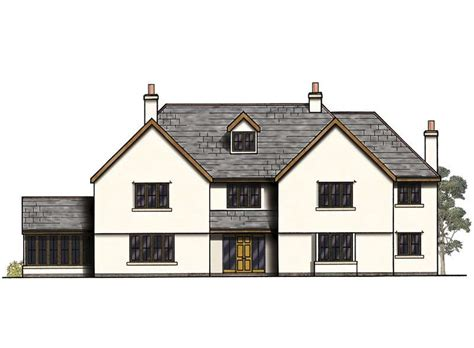 modern 4 bedroom house plans uk three storey family home with sunroom homebuilding 927   7a