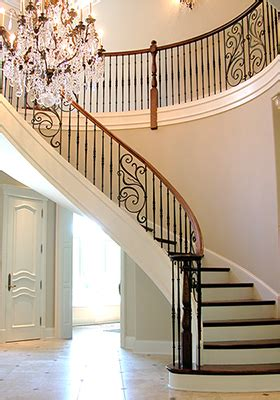 Wrought Iron Panels for Stairs