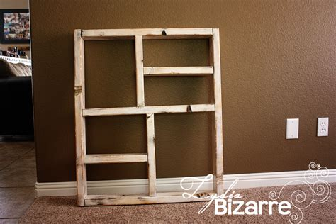 Wood Box Shelves