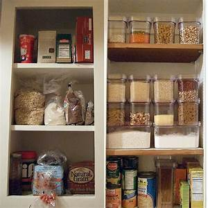 Organization on pinterest pantries ink pads and for Food storage ideas no pantry
