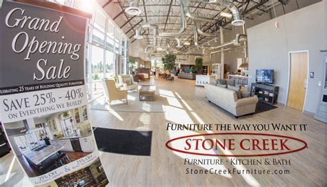 Local Manufacturers Stone Creek Furniture and Sub Zero