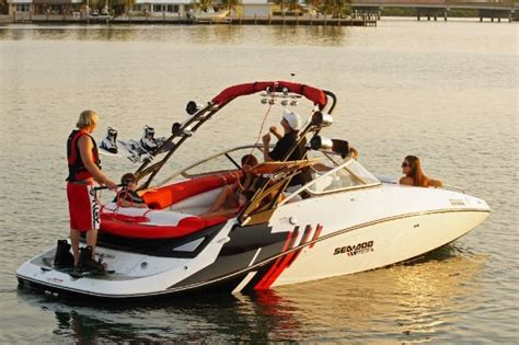 Sea Doo Boat Msrp by 2012 Sea Doo Sportboat 230 Wake Buyers Guide Boattest Ca