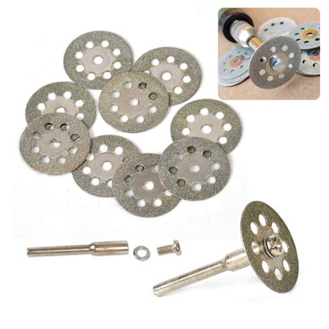 Dremel Tile Cutter Disc by 10x 22mm Cutting Discs Tool For Cutting Cut