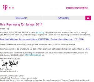 deutsche telekom wieder pishing mails