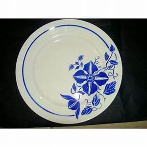 Lot D Assiette : lot d 39 assiettes luneville maguy brocante lestrouvaillesdecaroline ~ Teatrodelosmanantiales.com Idées de Décoration
