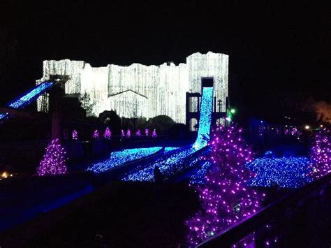 busch gardens christmas town polar pathway lights