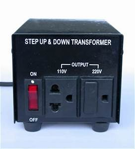 Never Use a Surge Protector with a Step-Down Transformer