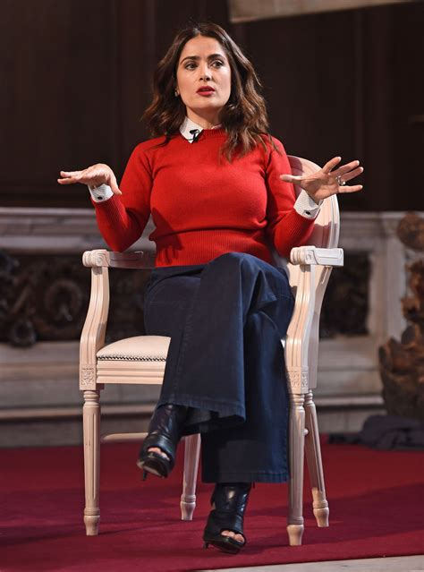 Salma Hayek - The Facebook Creative Talks Part 1 ...