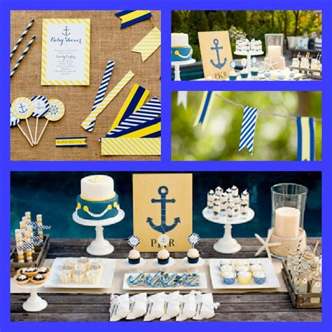 Summer Theme Baby Shower - summer baby shower from pottery barn and the tomkat