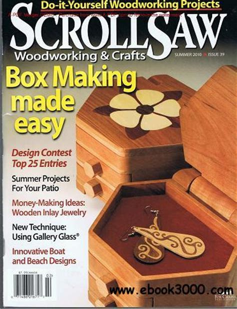 scroll  woodworking crafts magazine   plans